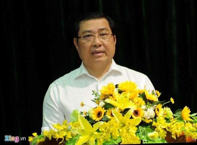 Chu tich TP Da Nang noi ve viec ban nha cong san hinh anh 1
