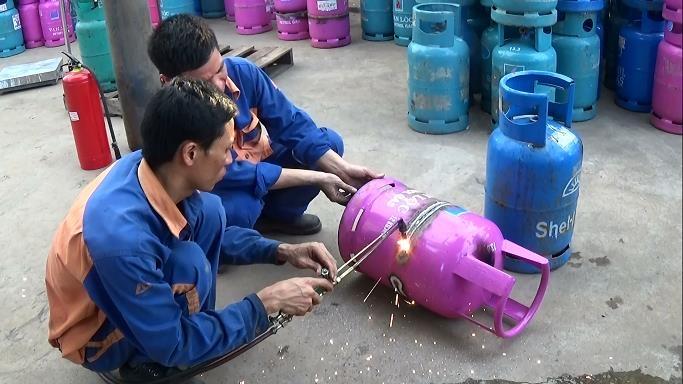 kinh doanh gas, bình gas, thị trường gas, Hiệp hội Gas Hà Nội, hàng giả