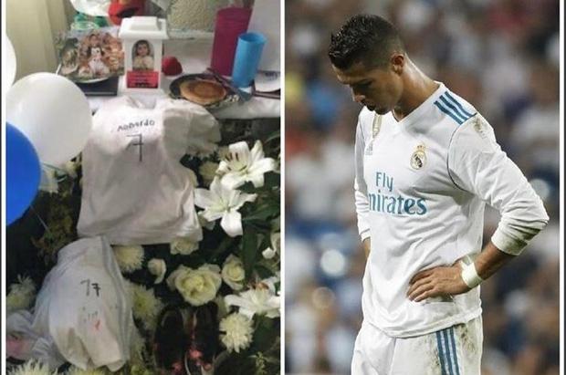 Hành động ấm lòng của Ronaldo khi nhận bức thư xúc động của người mẹ mất con vì động đất - Ảnh 1.