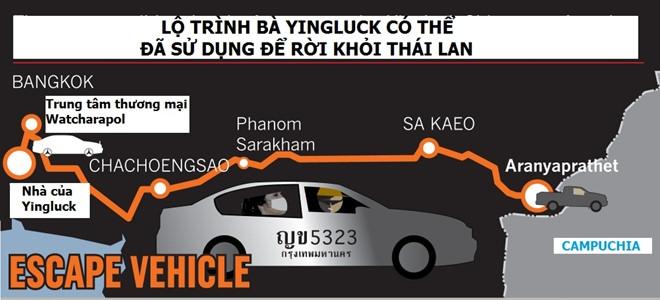Lanh dao canh sat 'che cho' cho nghi can vu Yingluck bo tron hinh anh 2