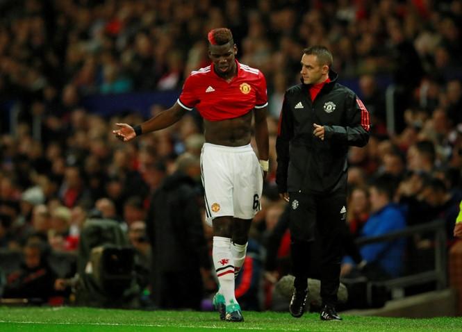 Pogba có thể sẽ phải lên bàn mổ /// Reuters