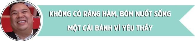 """thay nguyen tien manh: """"khong co rang ham, bom nuot song cai banh vi yeu thay"""" - 2"""