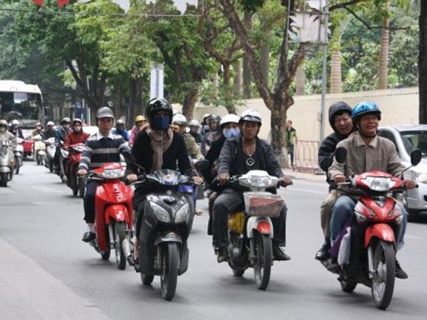 Tỷ lệ xe máy lớn hơn Việt Nam nhưng Đài Loan không tắc đường