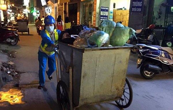 lao công, công nhân môi trường, góc khuất nghề lao công