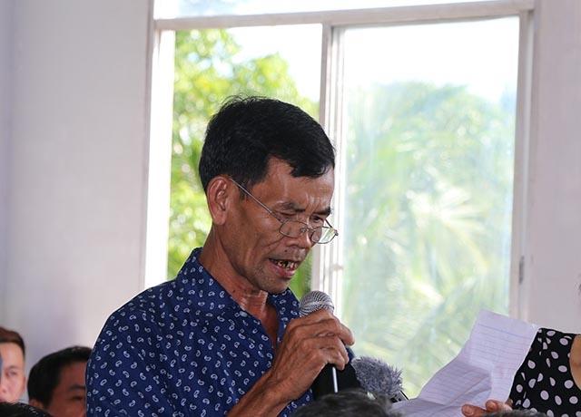 Cử tri xã Tân Thới, huyện Phong Điền đặt vấn đề với Chủ tịch QH.