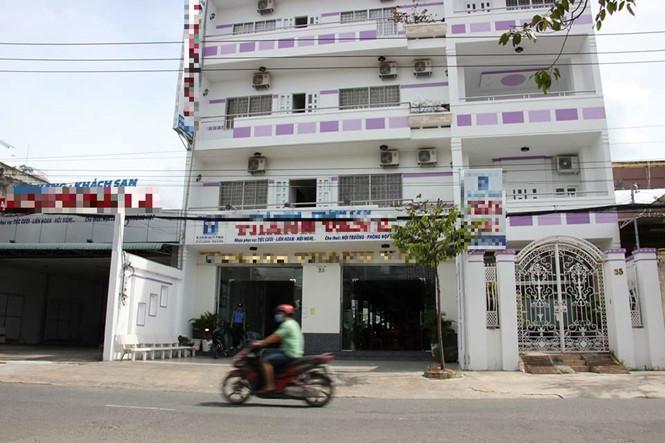 Khách sạn nơi cục phó báo bị mất trộm gần 400 triệu đồng /// ẢNH: PHẠM HỮU