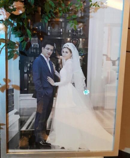 Giám đốc VTV24 Quang Minh xúc động trong lễ cưới với hôn thê kém 10 tuổi - 4