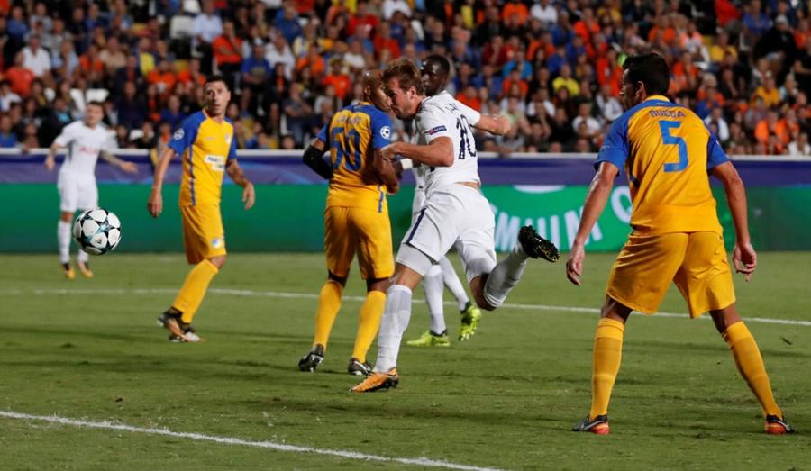 Harry Kane di vao lich su sau cu hat-trick tai Champions League hinh anh 5