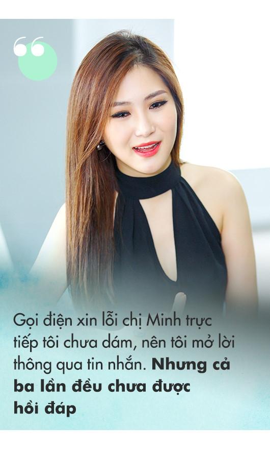 Huong Tram: 'Ba lan xin loi chi Thu Minh nhung khong duoc tha thu' hinh anh 6