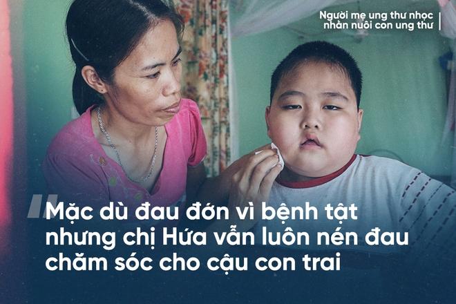 Mẹ ung thư nuôi con ung thư ở Bắc Ninh: Nhiều đêm đau không ngủ được lại ôm nhau khóc - Ảnh 4.