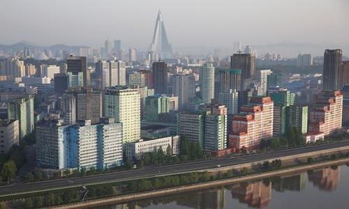 Một phần thủ đô Bình Nhưỡng, Triều Tiên. Ảnh: REuters.