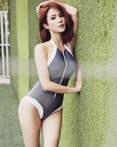 """""""Quả bom sexy"""" showbiz Việt khiến mày râu nhức nhối vì áo tắm khoét hiểm - 5"""