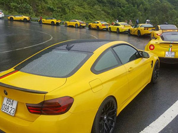 Dàn siêu xe trăm tỷ của đại gia Việt khuấy động miền Trung