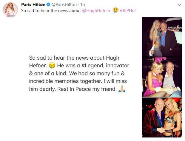 Loạt sao Hollywood đau buồn thương tiếc ông trùm Playboy vừa qua đời - Ảnh 4.