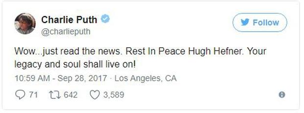 Loạt sao Hollywood đau buồn thương tiếc ông trùm Playboy vừa qua đời - Ảnh 6.