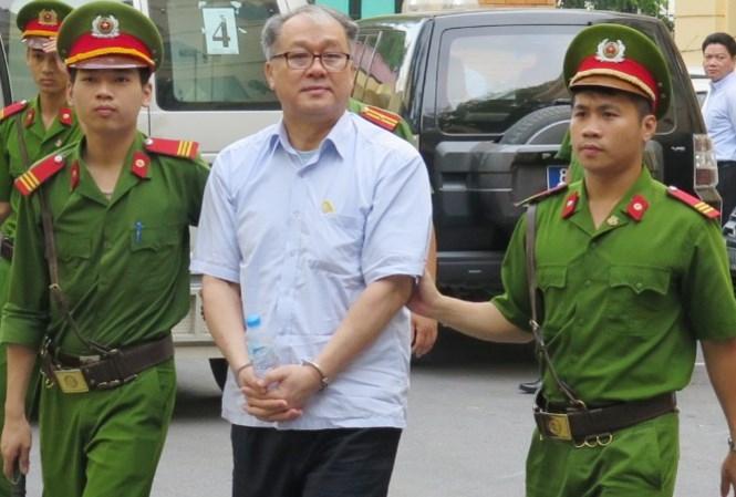 Bị cáo Phạm Công Danh tại tòa án Hà Nội.