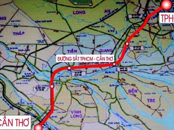 Đã có 5 tỷ USD làm đường sắt cao tốc TP.HCM – Cần Thơ?