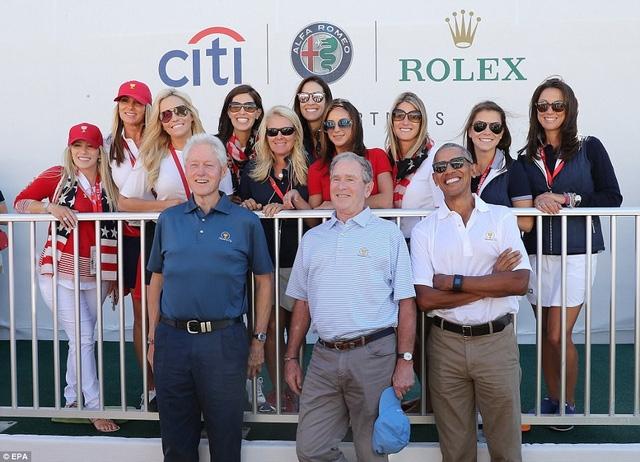 Giải đấu golf Presidents Cup 2017 bắt đầu diễn ra từ hôm qua 28/9 tại sân Liberty National ở bang New Jersey. (Ảnh: EPA)