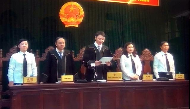HĐXX tại phiên xử Hà Văn Thắm sáng nay (29/9)