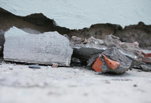 Hà Nội: Hàng nghìn cư dân chung cư lo nơm nớp vì nền bị sụt lún nghiêm trọng - Ảnh 9.