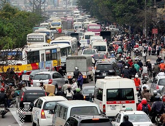 Chính trị - Xã hội - Hà Nội: Sẽ thực hiện thu phí phương tiện vào nội đô