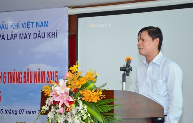Ông Nguyễn Anh Minh tại một cuộc họp của PVC /// Ảnh PVC