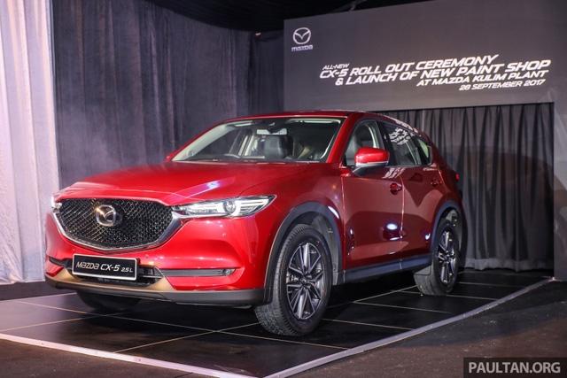 Mazda CX-5 2017 liên tiếp ra mắt Đông Nam Á nhưng vẫn mất hút tại Việt Nam - Ảnh 1.