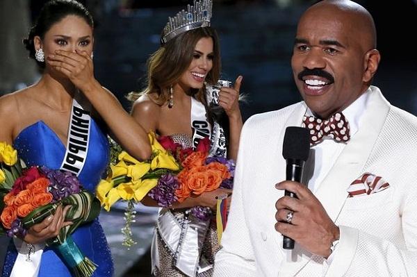 Khán giả khóc ròng vì thảm họa MC Steve Harvey tiếp tục dẫn Hoa hậu Hoàn vũ Thế giới 2017 - Ảnh 1.