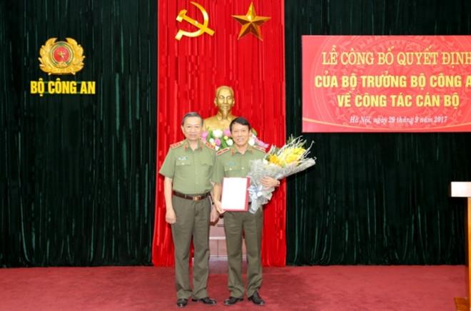 Thieu tuong Luong Tam Quang giu chuc Chanh van phong Bo Cong an hinh anh 1