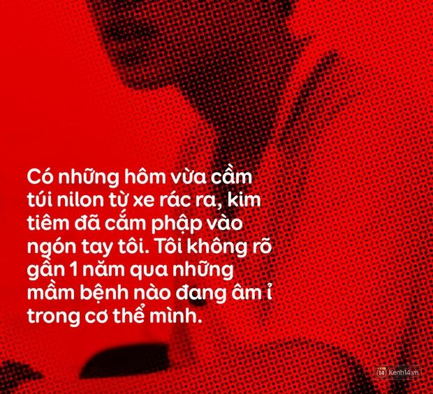 Tôi đi nhặt xác... - Cậu sinh viên 19 tuổi lần đầu kể lại hành trình nhặt 2.000 thai nhi trong túi rác trước cửa phòng khám ở Hà Nội để chôn cất - Ảnh 8.