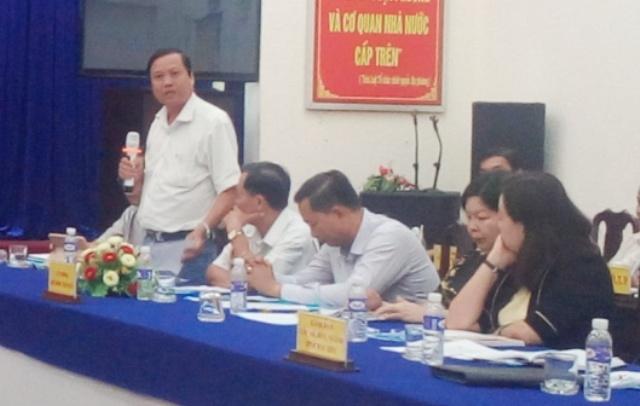 Ông Trần Ngọc Ân - Phó Chủ tịch huyện Vĩnh Lợi, cho biết đã tiến hành kỷ luật một lãnh đạo Phòng Tài nguyên & Môi trường.