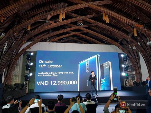 Nokia 8 ra mắt tại Việt Nam với giá 12,99 triệu, bán ra từ ngày 16/10 - Ảnh 2.