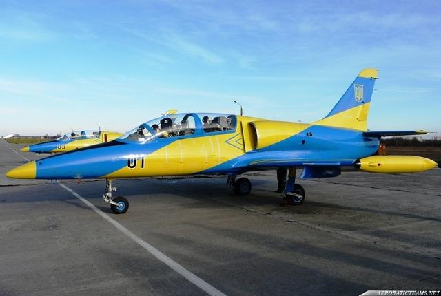 Máy bay L-39 của Ukraine (Ảnh: Aerobaticteams.net)