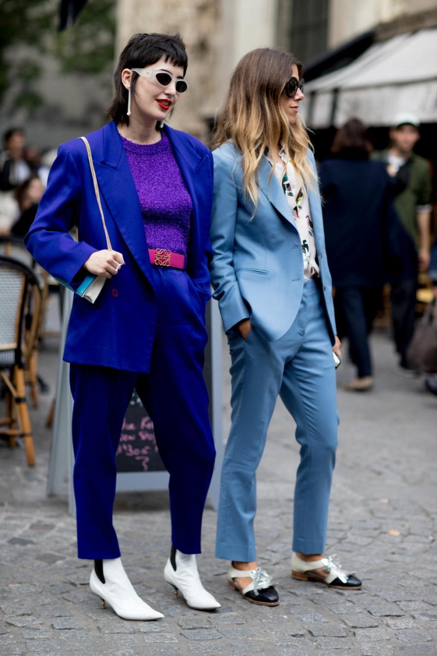 Street style chat nhat tai tuan le thoi trang Paris 2017 hinh anh 6