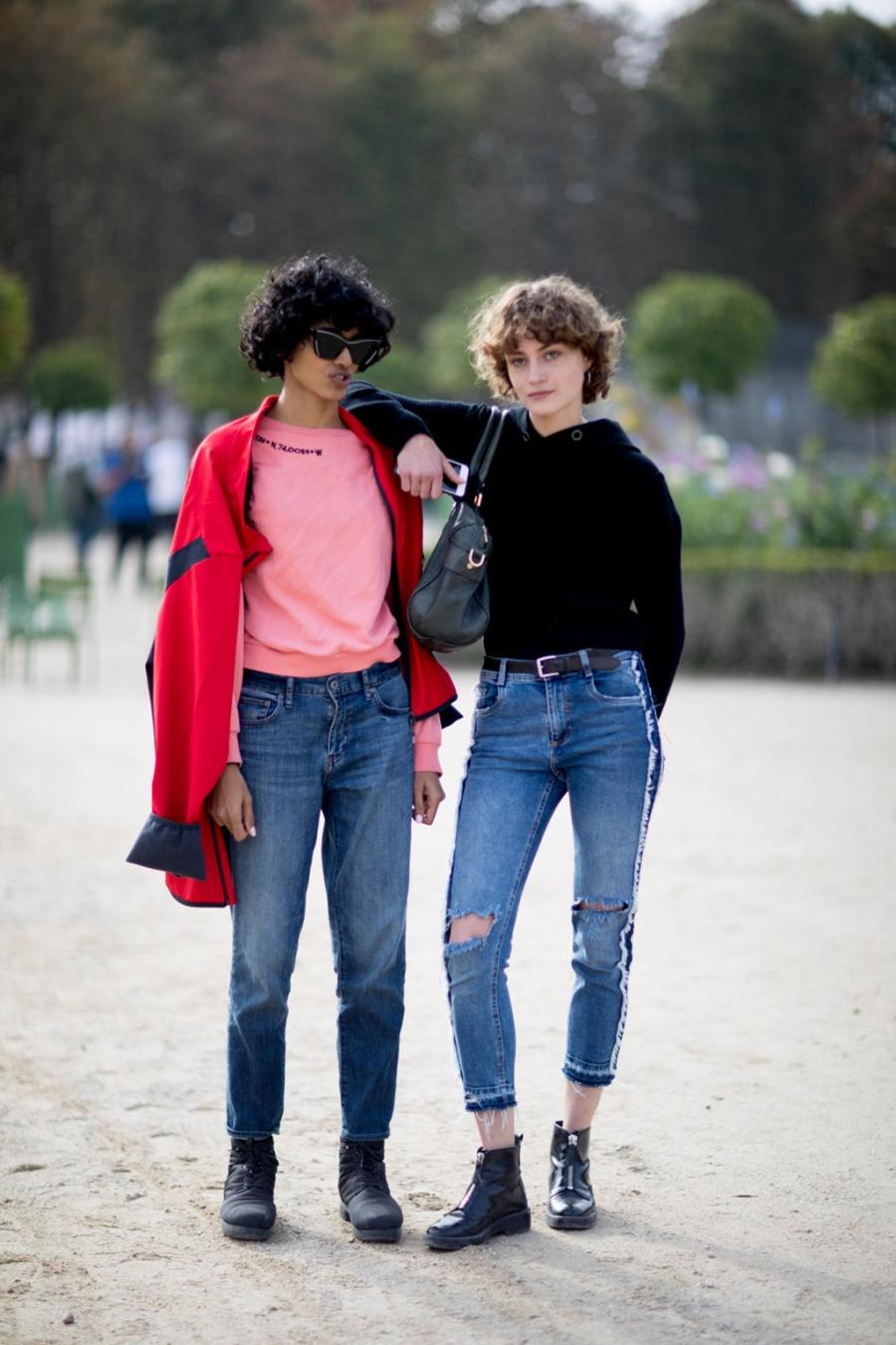 Street style chat nhat tai tuan le thoi trang Paris 2017 hinh anh 8