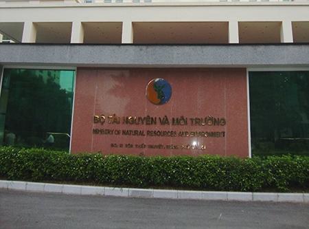 Trụ sở Bộ Tài nguyên và Môi trường.