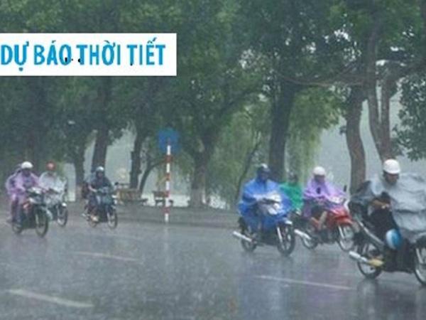 Lại xuất hiện áp thấp trên biển Đông gây mưa dông, gió giật nhiều nơi