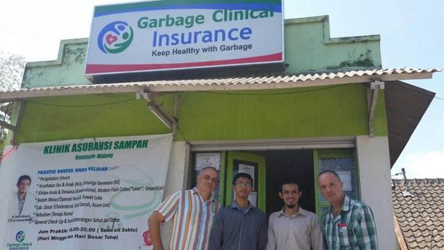 Dự án đổi rác lấy bảo hiểm y tế đã hoạt động được 7 năm