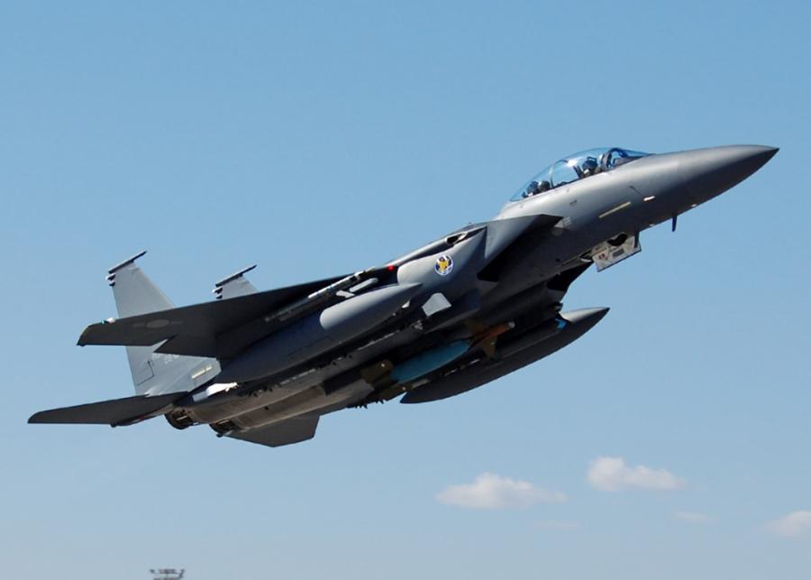 F-15K, at chu bai cua Han Quoc doi pho ten lua Trieu Tien hinh anh 8