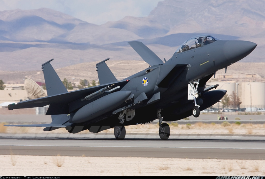 F-15K, at chu bai cua Han Quoc doi pho ten lua Trieu Tien hinh anh 9