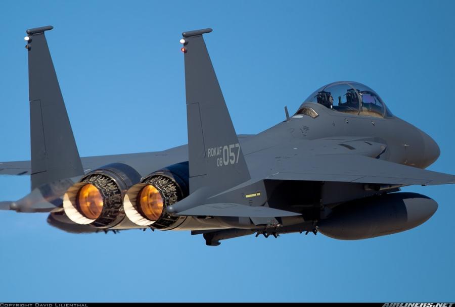 F-15K, at chu bai cua Han Quoc doi pho ten lua Trieu Tien hinh anh 11