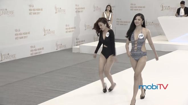 Hoa hậu Hoàn vũ VN 2017, tập 1: Nhiều trò cười, lố lăng tới mức MC Phan Anh bức xúc - Ảnh 8.