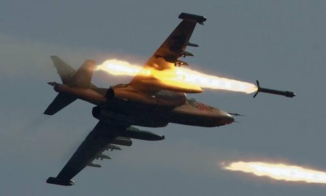 Một máy bay Nga không kích ở Syria. (Ảnh: Sputnik)