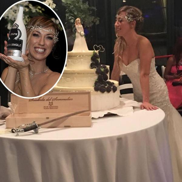 Laura Mesi là người phụ nữ đầu tiên tại Ý kết hôn với chính mình