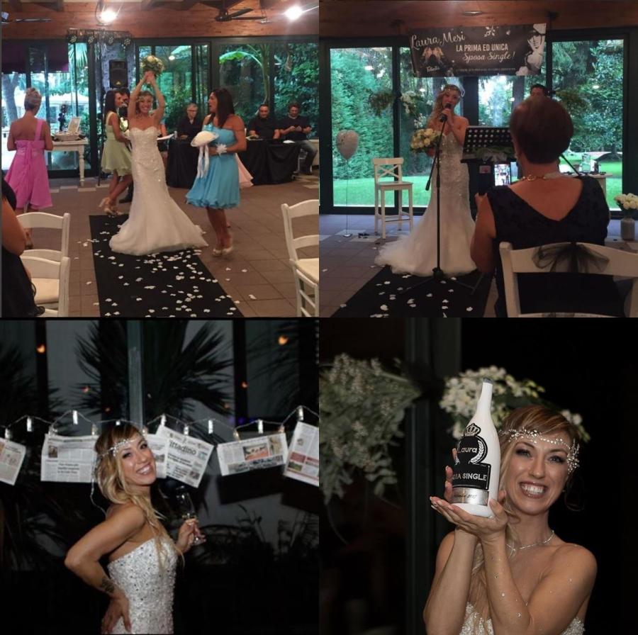 Người mẫu xinh đẹp tự cưới chính mình: 'Hạnh phúc của tôi đâu phụ thuộc đàn ông' - ảnh 2