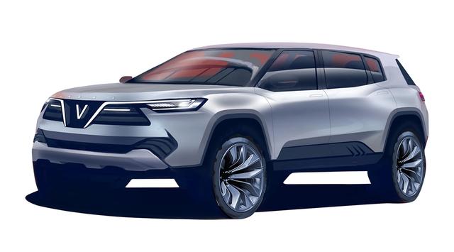 Cận cảnh 20 mẫu xe VINFAST được thiết kế riêng bởi 4 studio lừng danh thế giới: Đẹp không thua Tesla, Audi, BMW... - 2