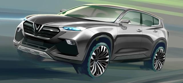 Cận cảnh 20 mẫu xe VINFAST được thiết kế riêng bởi 4 studio lừng danh thế giới: Đẹp không thua Tesla, Audi, BMW... - 4