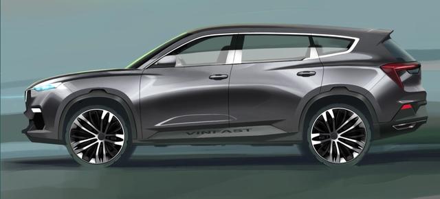 Cận cảnh 20 mẫu xe VINFAST được thiết kế riêng bởi 4 studio lừng danh thế giới: Đẹp không thua Tesla, Audi, BMW... - 6