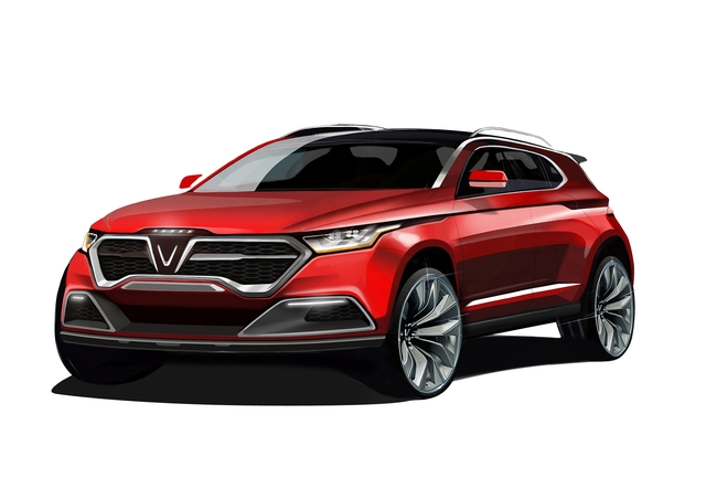 Cận cảnh 20 mẫu xe VINFAST được thiết kế riêng bởi 4 studio lừng danh thế giới: Đẹp không thua Tesla, Audi, BMW... - 7