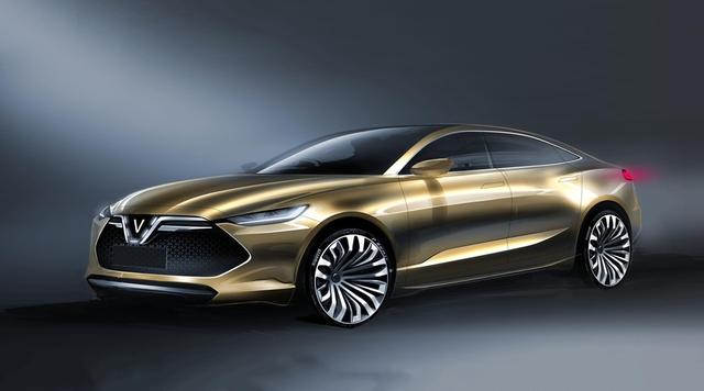 Cận cảnh 20 mẫu xe VINFAST được thiết kế riêng bởi 4 studio lừng danh thế giới: Đẹp không thua Tesla, Audi, BMW... - 10